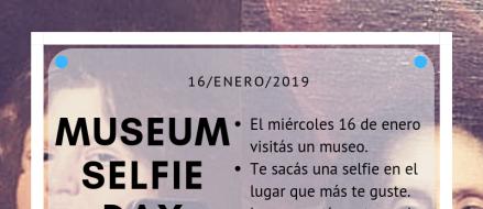 Día de la Selfie en los Museos. Participa!!
