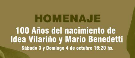 Homenaje por 100 años del nacimiento de Idea Vilariño y Mario Benedetti